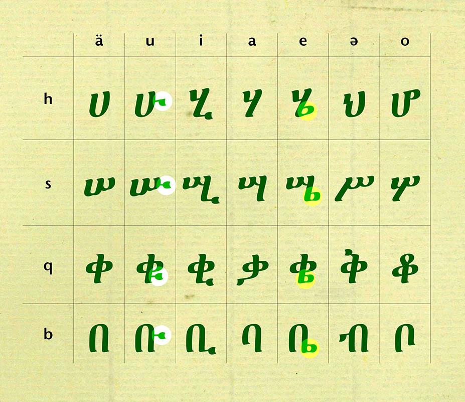 Ethiopian Script